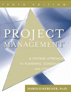 Portada del libro Project Management: A Systems Approach to Planning, Scheduling, and Controlling