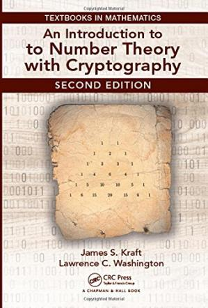 غلاف الكتاب An Introduction to Number Theory with Cryptography
