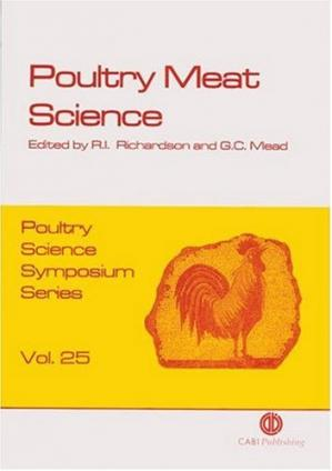 Couverture du livre Poultry Meat Science (Poultry Science Symposium)