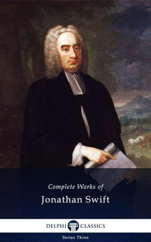 Book cover Delphi Complete Works of Jonathan Swift (Illustrated)