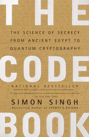 Book cover The code book: the science of secrecy from ancient Egypt to quantum cryptography