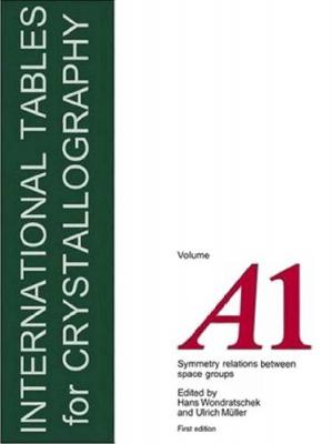 Обложка книги International Tables for Crystallography, Vol.A1: Symmetry relations between space groups