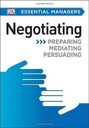 Copertina Negotiating (DK Essential Managers)