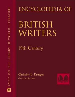 Book cover Encyclopedia of British Writers: 19th and 20th Centuries (Facts on File Library of World Literature) - 2 Vol. Set