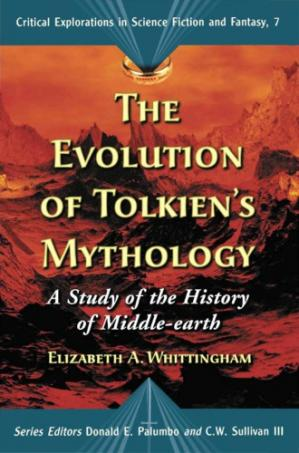 पुस्तक कवर The Evolution of Tolkien's Mythology: A Study of the History of Middle-earth