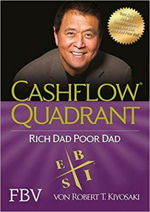 Book cover Cashflow Quadrant: Rich dad poor dad