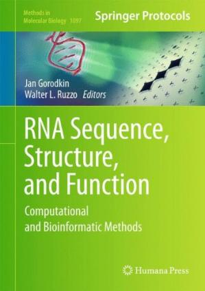 Okładka książki RNA Sequence, Structure, and Function: Computational and Bioinformatic Methods