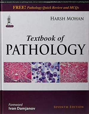 Book cover Textbook of Pathology