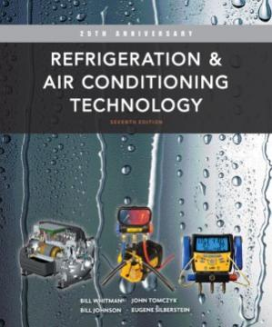 Book cover Refrigeration and Air Conditioning Technology, 7th edition