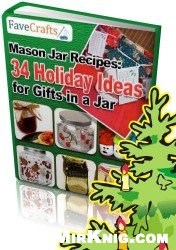 Book cover Mason Jar Recipes: 34 Holiday Ideas for Gifts in a Jar