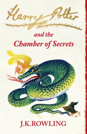 Book cover Harry Potter and the Chamber of Secrets (UK edition)