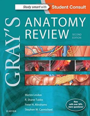 Book cover Gray's Anatomy Review