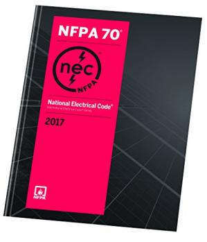 Book cover National Electrical Code 2017