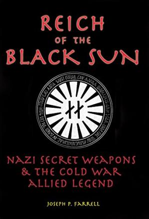 A capa do livro Reich of the Black Sun: Nazi Secret Weapons and the Cold War Allied Legend