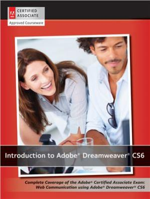 表紙 Introduction to Adobe Dreamweaver CS6 with ACA Certification