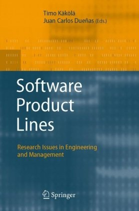Buchdeckel Software product lines: research issues in engineering and management