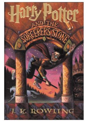 Sampul buku (Book 1) J. K. Rowling - Harry Potter and the Sorcerer's Stone