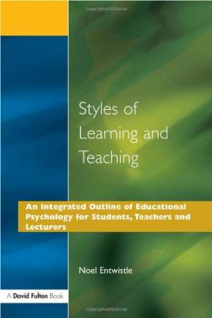 Okładka książki Styles of Learning and Teaching: An Integrated Outline of Educational Psychology for Students, Teachers and Lecturers