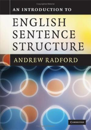 La couverture du livre An Introduction to English Sentence Structure