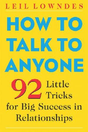 Couverture du livre How to Talk to Anyone