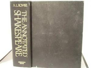 Book cover The annotated Shakespeare: three volumes in one : the comedies, the histories, sonnets, and other poems, the tragedies and romances