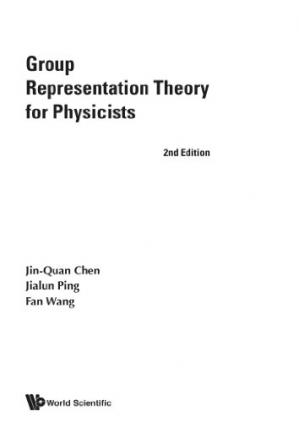 Portada del libro Group representation theory for physicists