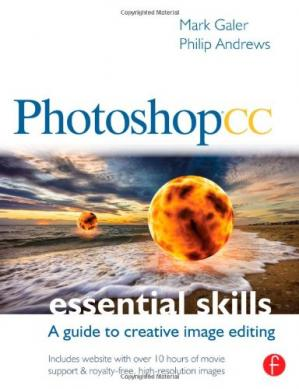 Book cover Photoshop CC: Essential Skills: A guide to creative image editing