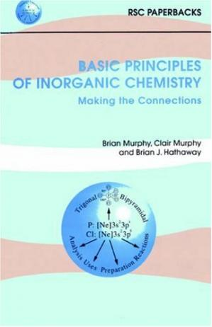 Book cover Basic Principles of Inorganic Chemistry. Making the Connections