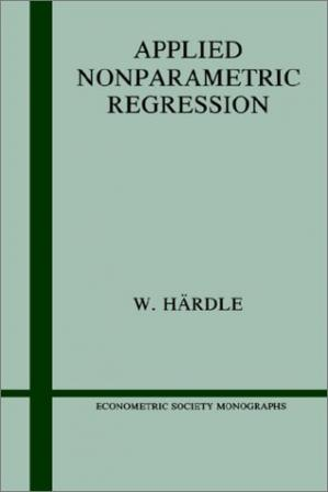 Okładka książki Applied Nonparametric Regression