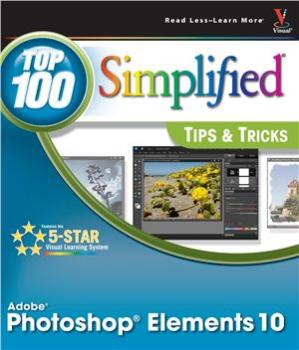 Book cover Photoshop Elements 10 Top 100 Simplified Tips and Tricks
