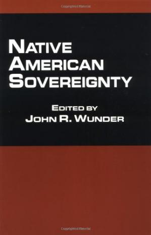 Bìa sách Native American Sovereignty (Native Americans and the Law)