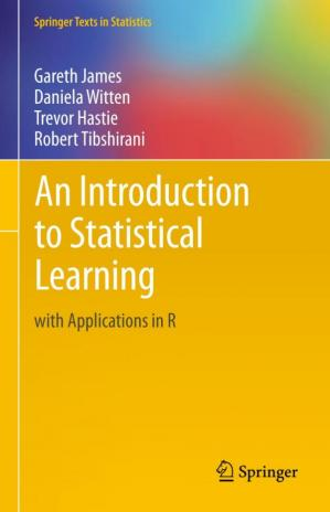 Book cover An Introduction to Statistical Learning  with Applications in R