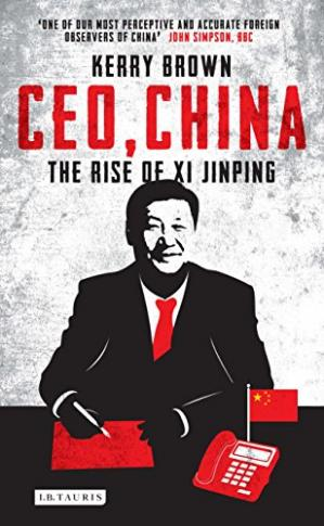 Okładka książki CEO, China: The Rise of Xi Jinping
