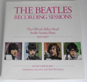 Book cover Beatles Recording Sessions