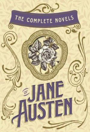 Sampul buku The Complete Novels of Jane Austen: Emma, Pride and Prejudice, Sense and Sensibility, Northanger Abbey, Mansfield Park, Persuasion, and Lady Susan: Emma, ... (w/Lady Susan)