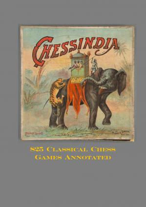 Portada del libro 825 Classical Chess Games Annotated