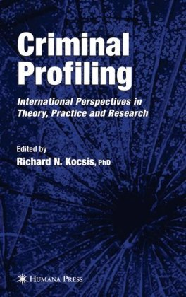 Book cover Criminal Profiling: International Theory, Research, and Practice