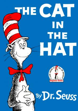 表紙 The Cat in the Hat