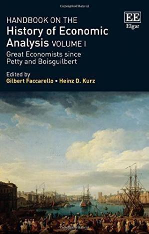 Buchdeckel Handbook on the History of Economic Analysis, Volume 1: Great Economists Since Petty and Boisguilbert