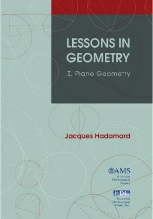 A capa do livro Lessons in Geometry