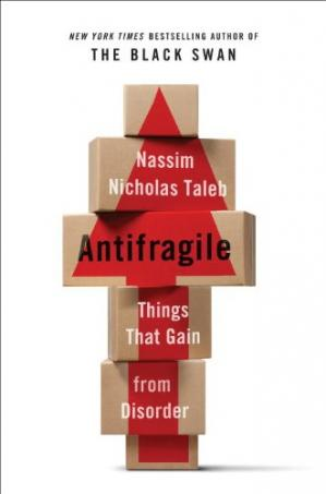 Εξώφυλλο βιβλίου Antifragile: Things That Gain from Disorder