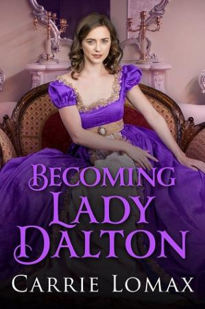 Book cover Becoming Lady Dalton