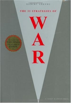 Book cover The 33 Strategies of War