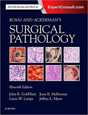Book cover Rosai and Ackerman's Surgical Pathology