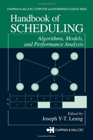 Copertina Handbook of Scheduling: Algorithms, Models, and Performance Analysis