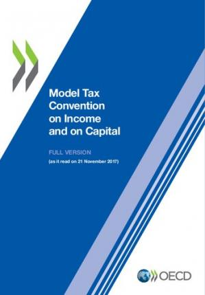 Copertina Model Tax Convention on Income and on Capital: Volume I and II, (updated 21 November 2017)