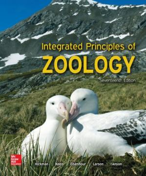 Buchdeckel Integrated Principles of Zoology