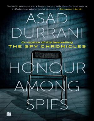 Book cover Honour Among Spies