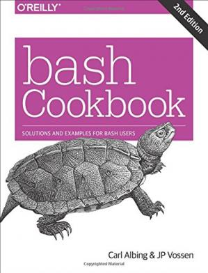 Copertina bash Cookbook: Solutions and Examples for bash Users