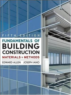 Buchdeckel Fundamentals of Building Construction: Materials  and Methods